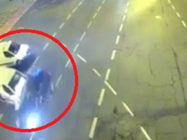 Polonia: chofer mata a una persona por ignorar luz roja del semáforo