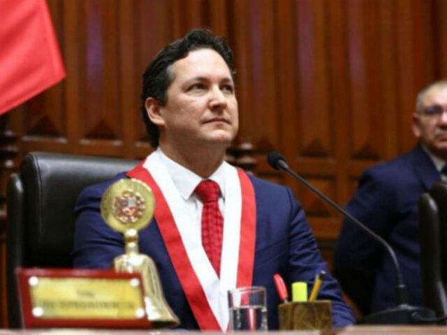 Congreso: decretos emitidos durante presidencia de Salaverry serán analizados