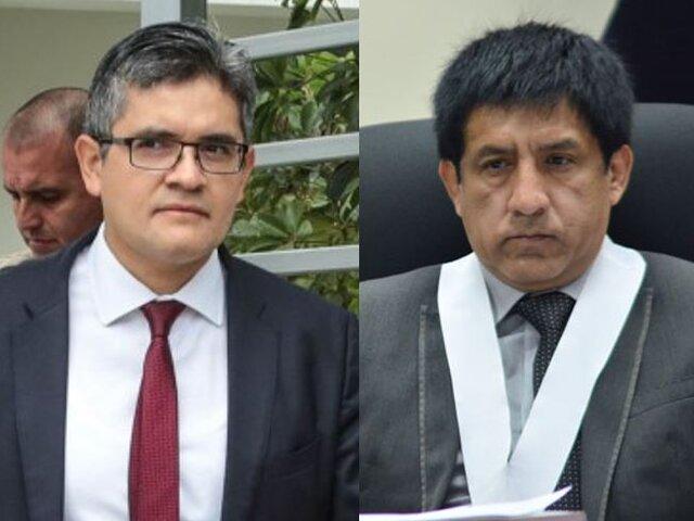 Fiscal recomienda investigar a Domingo Pérez y Concepción Carhuancho por abuso de autoridad