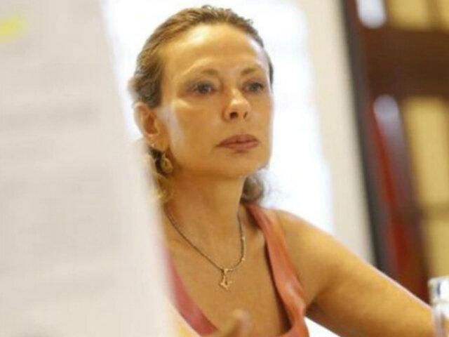 Eliane Karp se lanzó al suelo tras conocer decisión contra Alejandro Toledo