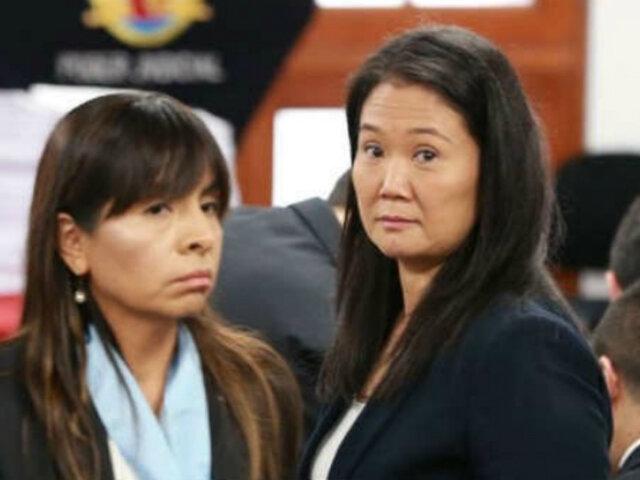 Giulliana Loza: Hay un abuso constante y clara persecución contra Keiko Fujimori