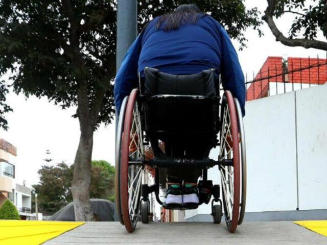 Municipalidad de Lima construirá 1.200 rampas para personas con discapacidad