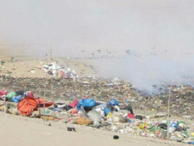 Pisco: desierto California se encuentra contaminado por grandes cantidades de basura