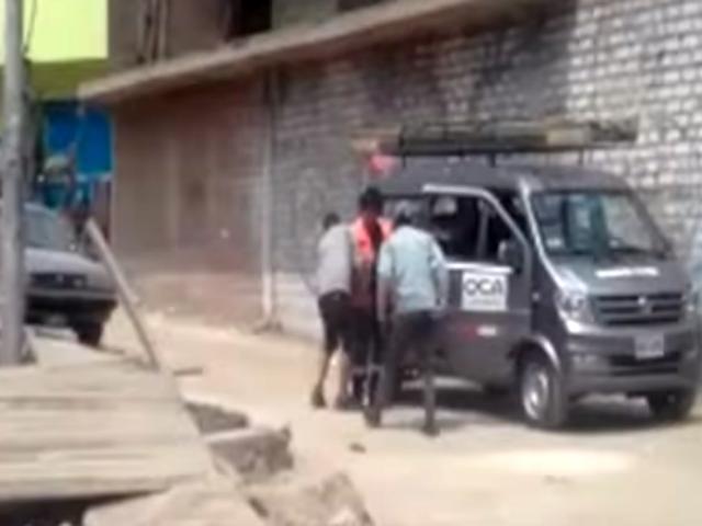 SJL: trabajadores de empresa eléctrica fueron asaltados en la vía pública