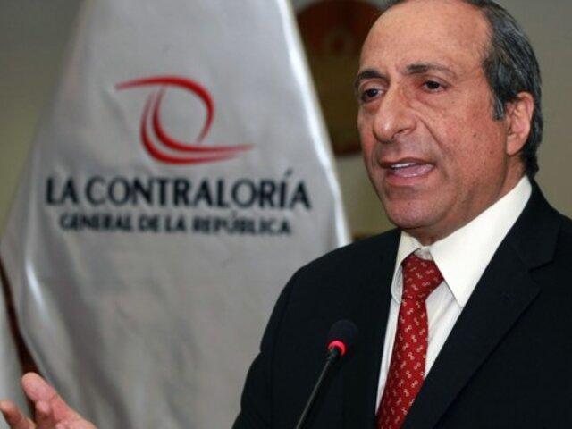 Caso Chinchero: excontralor participó en sesión de Fiscalización