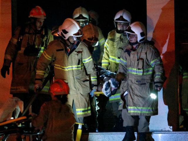 Río de Janeiro: al menos 11 muertos deja incendio en hospital