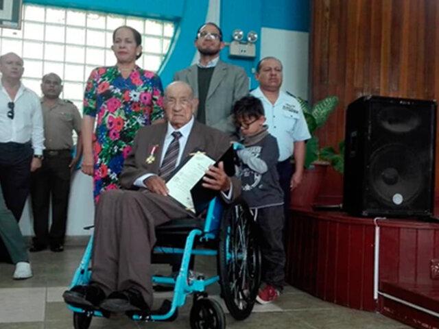 Ucayali: peruano que luchó en la Segunda Guerra Mundial fue condecorado
