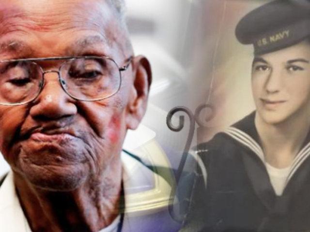 EEUU: veterano de la Segunda Guerra Mundial celebra 110 años