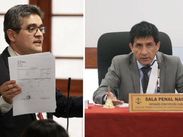 Archivan denuncia contra Domingo Pérez y Concepción Carhuancho por prevaricato
