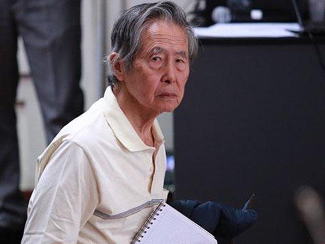 Alberto Fujimori es internado en clínica por problema ventilatorio