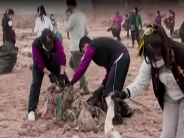Voluntarios retiran 30 toneladas de basura en playas de Ventanilla