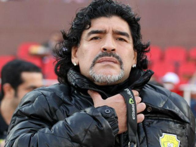 La trayectoria de Diego Maradona como Director Técnico