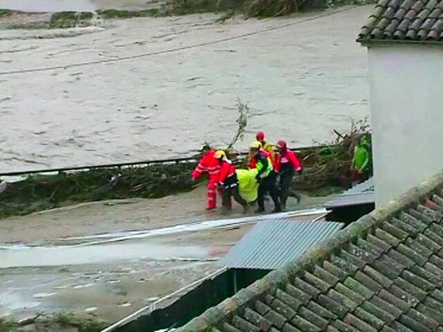 Lluvias e inundaciones dejan al menos 6 muertos en España