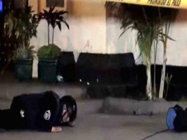 Pánico en Municipalidad de La Victoria por falsa alerta de bomba