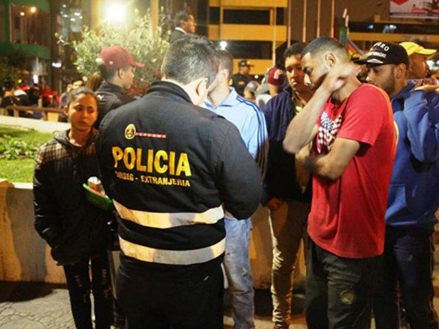 SMP: más de 150 extranjeros fueron intervenidos durante  operativo