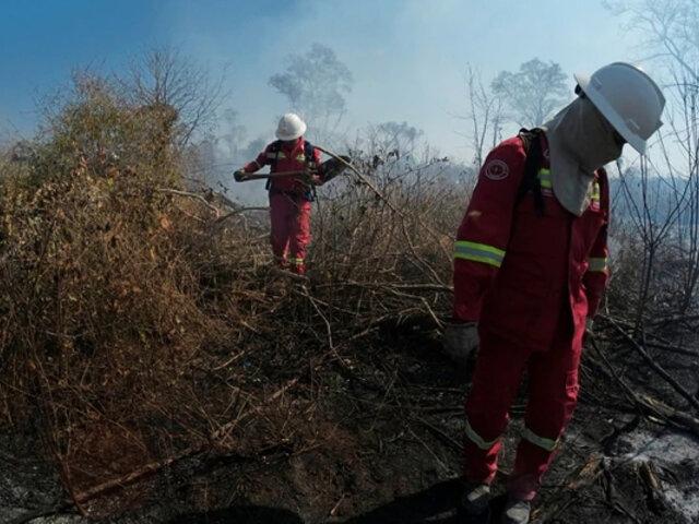 Fallecieron tres bomberos que combatían incendios forestales en Bolivia