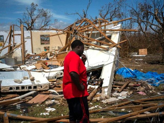 Bahamas: 15 mil damnificados buscan casa y comida a dos semanas del huracán Dorian