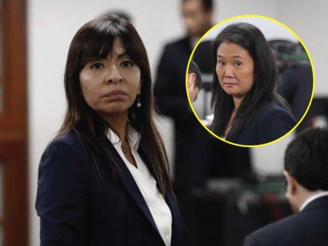 """Giulliana Loza tras excarcelación para Keiko Fujimori: """"Ha prevalecido el derecho"""""""