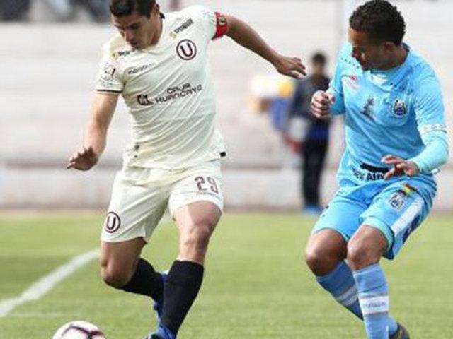 Universitario derrotó 2-0 a Binacional y alcanza la cima del Torneo Clausura