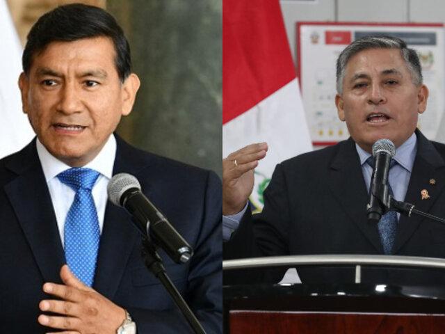 Congreso: ministros del Interior y de Defensa acuden hoy a comisión