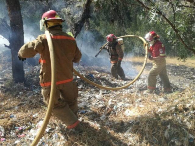 Incendio forestal arrasó con 15 hectáreas de bosque cerca del Parque Huascarán