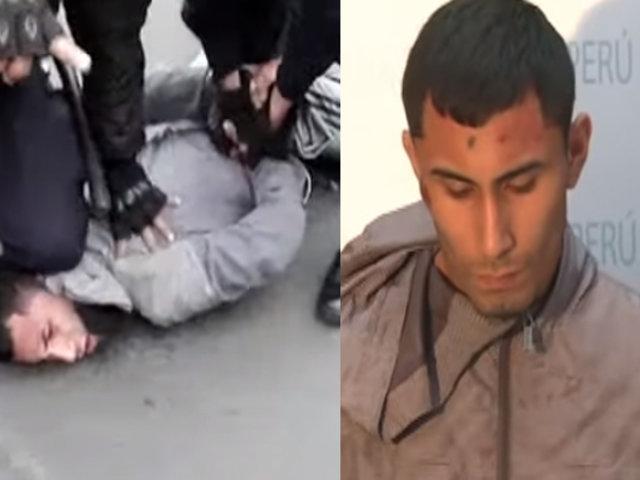 San Borja: capturan a delincuente que asaltó a balazos a una pareja