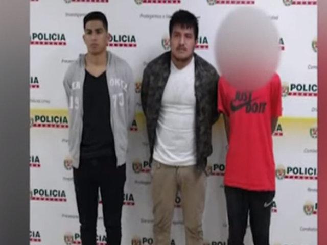 Surco: miembros de banda que asaltaban taxistas por aplicativo eran menores de edad
