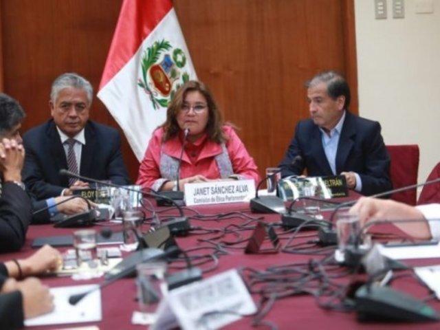 Comisión de Ética: 5 bancadas confirman su retiro tras rechazo a recomposición