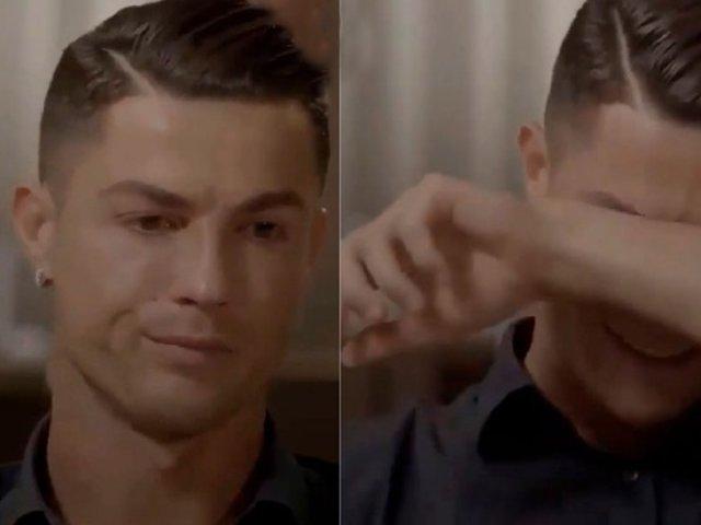 Cristiano Ronaldo llora al ver video inédito de su difunto padre