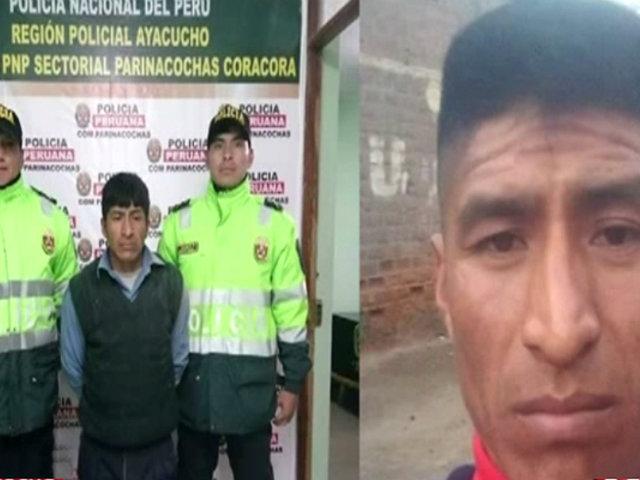 Ayacucho: mujer se salva de morir tras ser desfigurada con piedra por su pareja