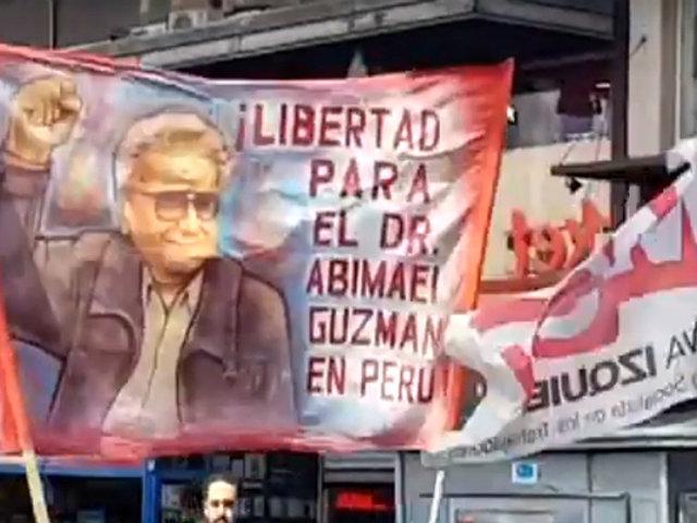 Argentina: Movadef marcha por la liberación de Abimael Guzmán