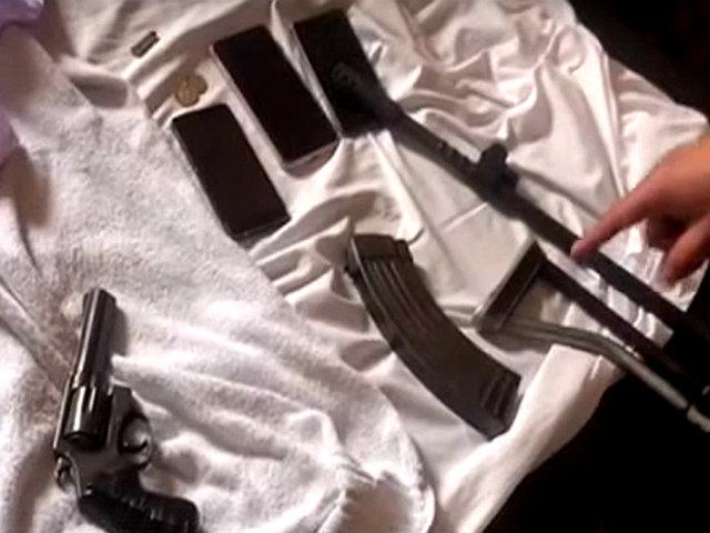 Los Olivos: detienen a extranjeros con armamento de largo alcance