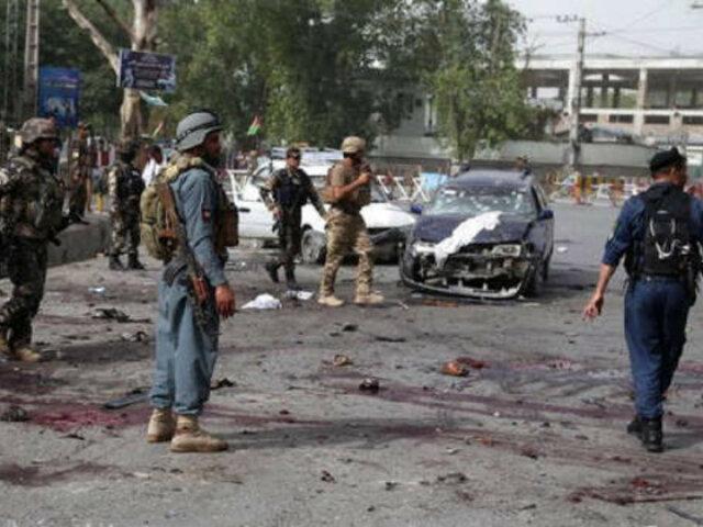 Ataque suicida con motocicleta bomba deja al menos 48 muertos y más de 80 heridos en Afganistán