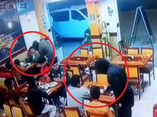 Carabayllo: sujetos armados asaltaron a comensales y trabajadores de pollería