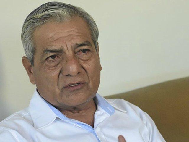 Elidio Espinoza se pronunció tras sentencia de 30 años de cárcel  en su contra