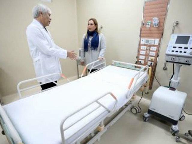 Hospital Ramón Castilla: implementan modernos ambientes y equipos de última generación