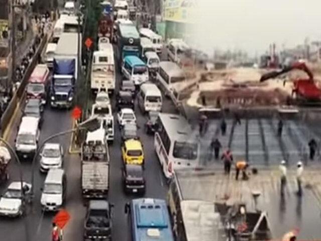 Alcalde de Ate detalla los vacíos en el plan de desvíos por obras en Carretera Central
