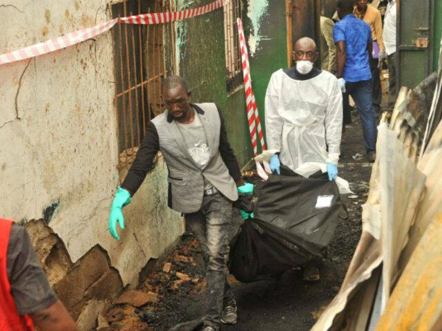 Liberia: al menos 28 muertos deja incendio en escuela musulmana