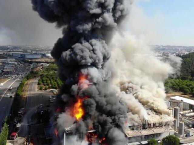 Turquía: explosión en planta química deja varios heridos en Estambul