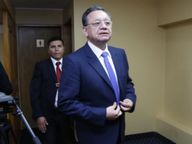Caso Swing: Edgar Alarcón confirmó que visitó a Antauro Humala antes de difundir audios