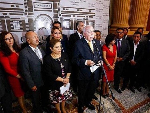 Fuerza Popular asegura que interrogatorio a Montesinos busca presionar a miembros del TC