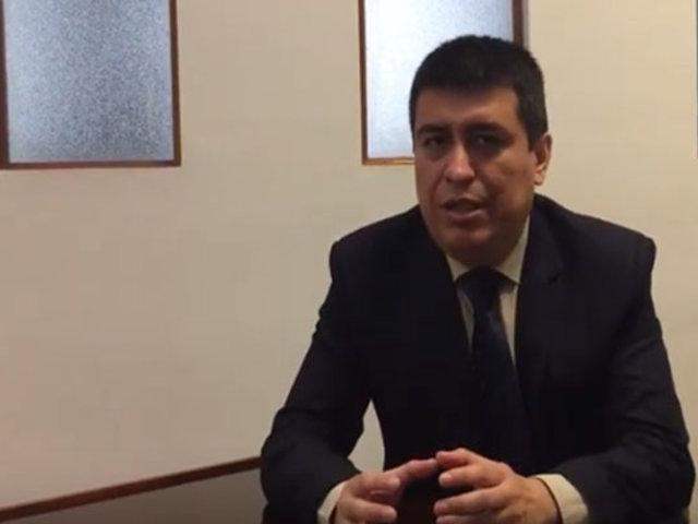 Ibo Urbiola: queremos que acabe la crisis pero sin atentar contra la democracia