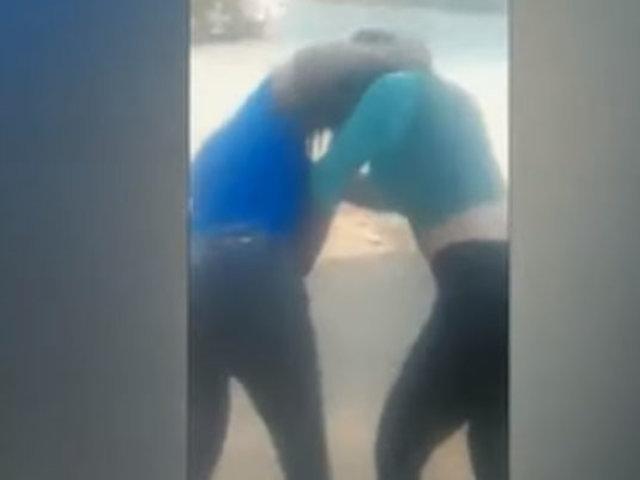 Tumbes: disputa de clientes habría provocado pelea de venezolanas en vía pública
