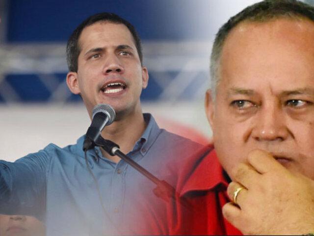 Juan Guaidó acusa a Cabello de sabotear mesa de diálogo impulsada por Nicolás Maduro