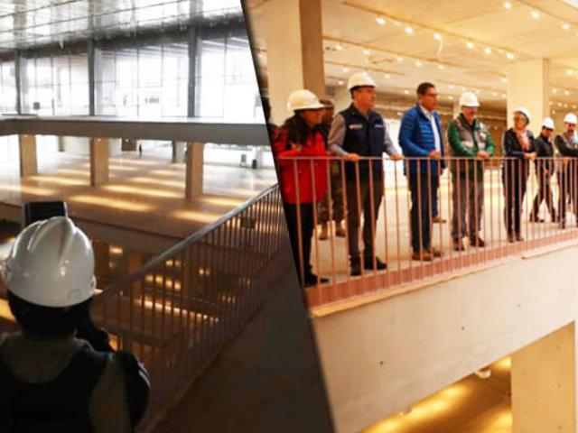 Nuevo Museo Nacional de Arqueología será entregado al Estado en octubre
