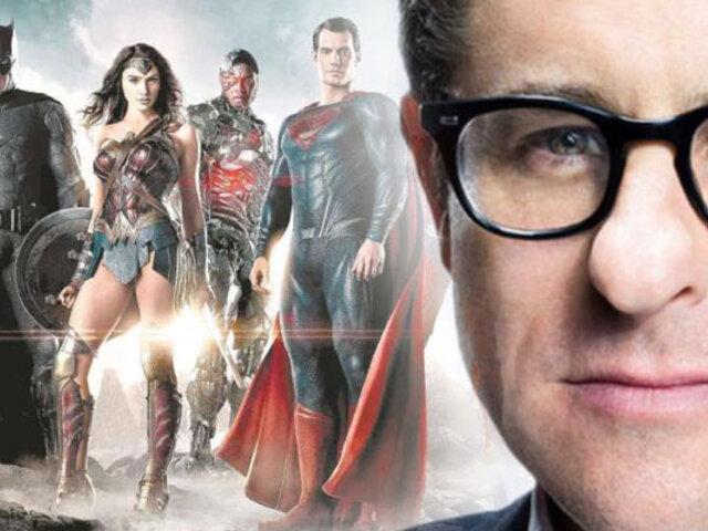 """J.J. Abrams podría dirigir el reboot de """"La Liga de la Justicia"""""""