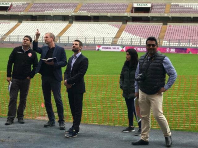 Mundial Sub-20: FIFA inspecciona Estadio Nacional como posible sede del torneo