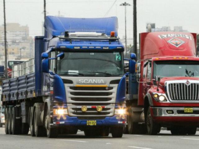 'Pico y placa' para camiones: ampliarán por un mes la marcha blanca