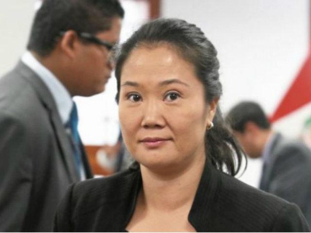 Keiko Fujimori sería dada de alta esta noche