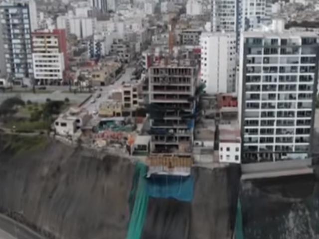 Costa Verde: sismo traería abajo construcciones al borde de acantilado